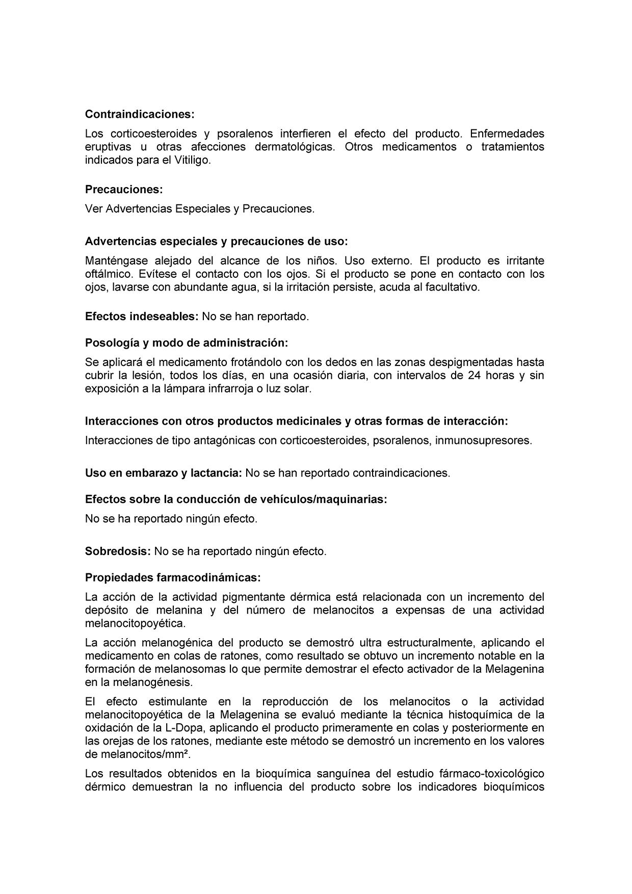 Сертификат Мелагенин Плюс 2